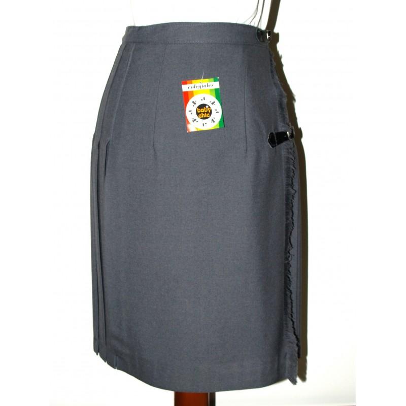 Falda niña uniforme