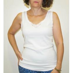 Camiseta mujer tiranta ancha