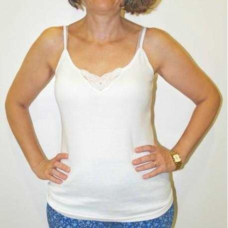 Camiseta interior mujer tirantes fino