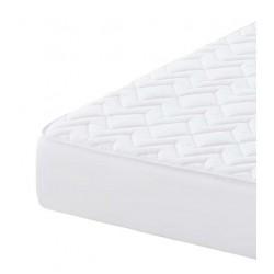 Protector de colchón acolchado reversible