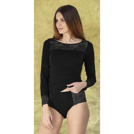 Camiseta interior  mujer manga larga TENCEL