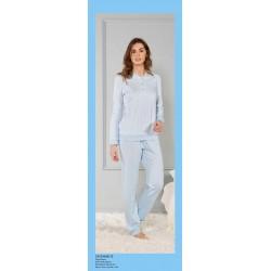 Pijama mujer PUÑOS -...