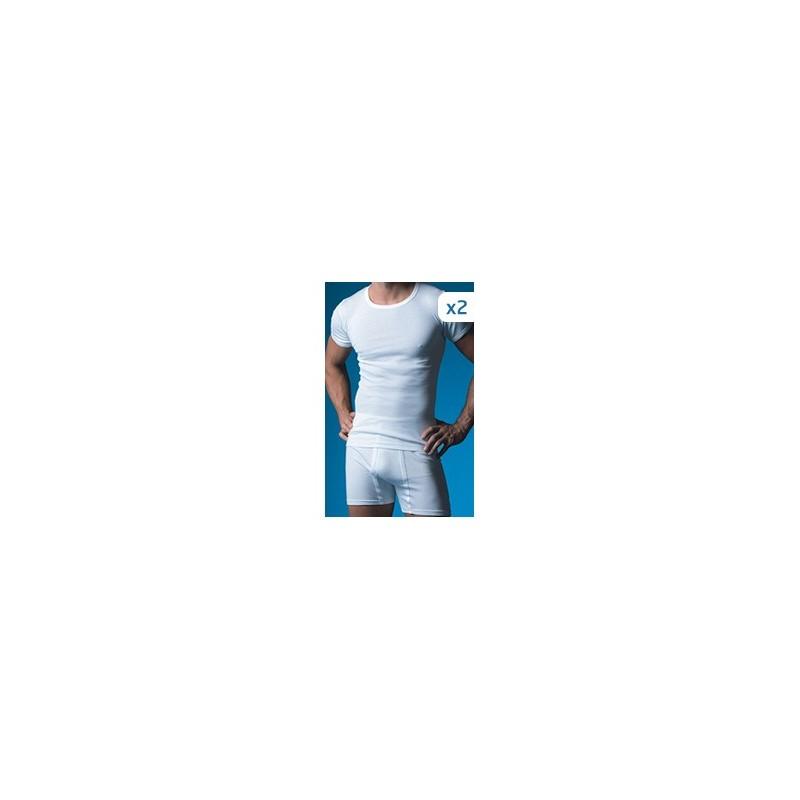 Camiseta interior hombre pack-2