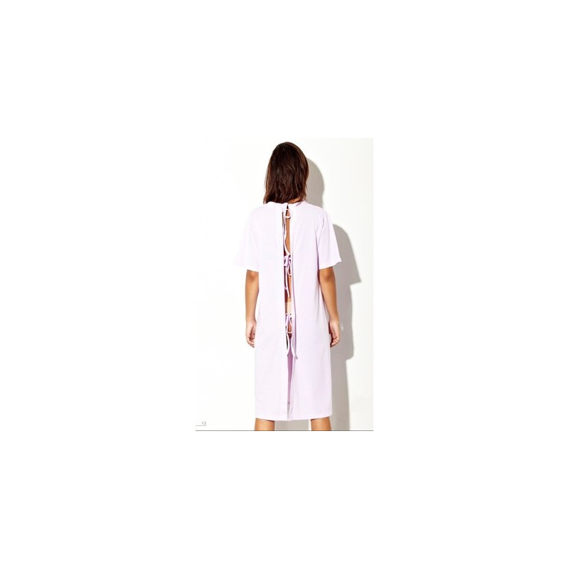 Camisón mujer  con abertura trasera